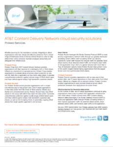 AT&T Content Delivery Network